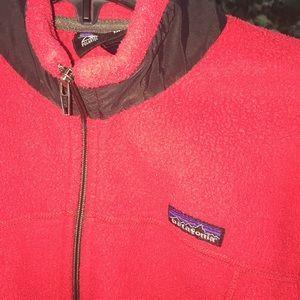 Patagonia Red & Black Polartec Regulator Jacket